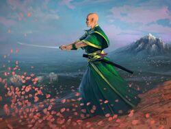 Enlightened Warrior by Carlos Nuñez de Castro Torres.jpg