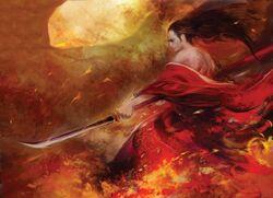 Serene Warrior by Shawn Ignatius Tan.jpg