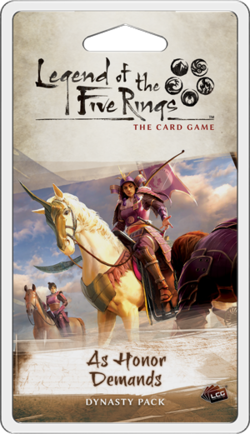 Legend of the Five Rings LCG The Fires Within Pack FFG L5R