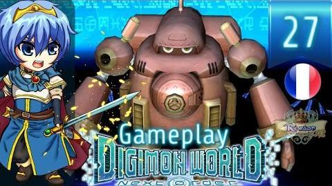 Let's Play FR Digimon World Next Order - Gameplay PS4 Français - Guardromon 27