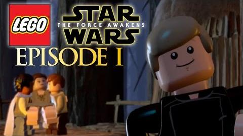 THE BATTLE OF ENDOR!! Lego Star Wars The Force Awakens Gameplay Episode 1