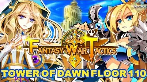Fantasy War Tactics ToD 110 Tower of Dawn August 2016