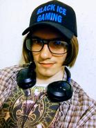 Black Ice Gaming Selfie