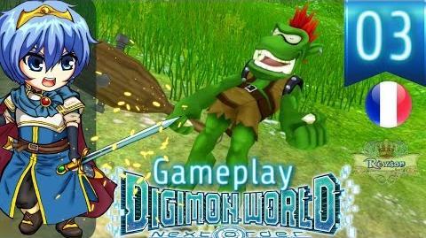 Let's Play FR Digimon World Next Order - Gameplay PS4 Français - Pas de Pitié Pour Goburimon ! 3