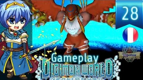 Let's Play FR Digimon World Next Order - Gameplay PS4 Français - Reyson vs Garudamon ! 28