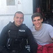 Carlos Garay et Miguel Herrán