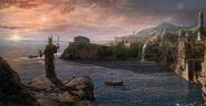 Atlantis the last sunrise by batkya-d4tuxzz