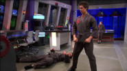 Chase uses aikido on Adam