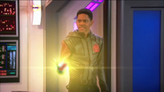 Leo try to kill marcus whit his laser sphere -Lab Rats the vanishing pt 2