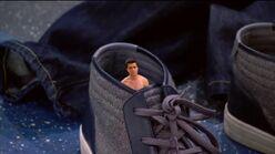 Adam is shoe size