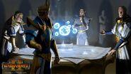 Plan de batalla altos elfos warhammer total war por Plamen Genov