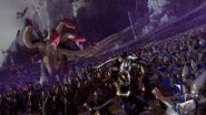 Altos elfos oscuros hidra choque ejercitos warhammer total war