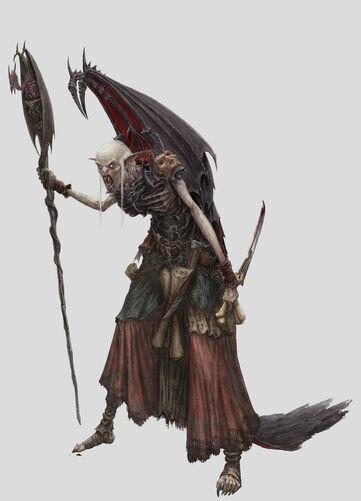 Zacharius Vampiro Necrarca Warhammer Online por Michael Phillippi.jpg