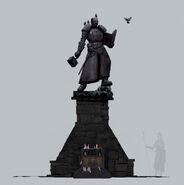 Estatua sacerdote de sigmar vermintide por Petter Lundh