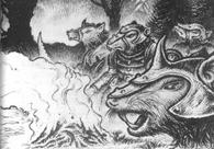 Ratas de clan hoguera por Martin McKenna