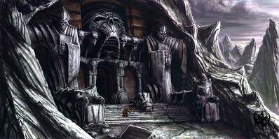 Warhammer AoR Mourkain Morgheim tumba Michael Phillippi.jpg