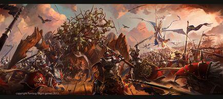 Warhammer invasion cataclysm expansion por Ignacio Bazán Lazcano.jpg