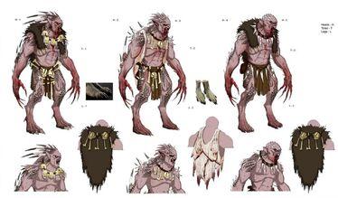 Rey Necrófago Strigoy boceto por Theo Stylianides Warhammer Online.jpg