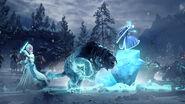 Katarin y Bruja de Hielo Warhammer Total War 3