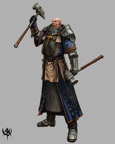 Sacerdote Guerrero 03 Warhammer Online por Michael Phillippi.jpg