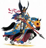 Caballero del reino cargando por Dave Gallagher