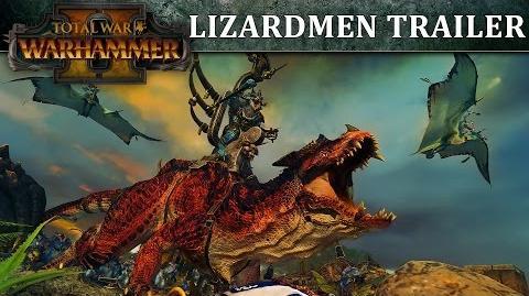 Total War WARHAMMER 2 – Lizardmen In-Engine Trailer SPA