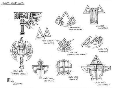 Símbolos Fortalezas Enanos por Mark Gibbons.jpg