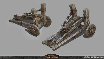Lanzagoblins warhammer total war por Michal Gutowski.jpg