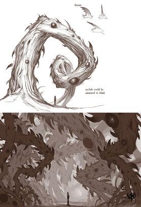 Warhammer Online Arte Conceptual Espinas Caos conart0807 19.jpg