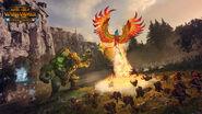 Ídolo errático y Fénix arcano Warhammer Total War El Guardian y el Panzudo