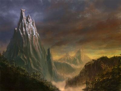 Monte Cuerno Ensangrentado Warhammer Online por Michael Phillippi.jpg
