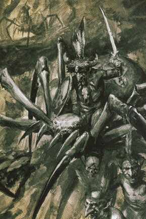 Jinetes de Araña Goblins Silvanos.jpg