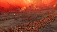 Batalla Kislev contra las Huestes de Khorne Warhammer Total War 3
