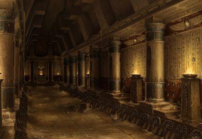 Pasillo templo Reyes Funerarios por Sven Bybee.jpg