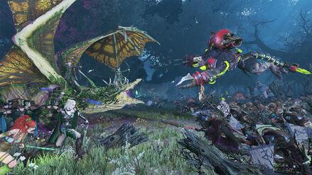 Naestra y Arahan Warhammer Total War (2)