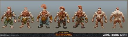 Matadores enanos warhammer total war por Michal Gutowski.jpg