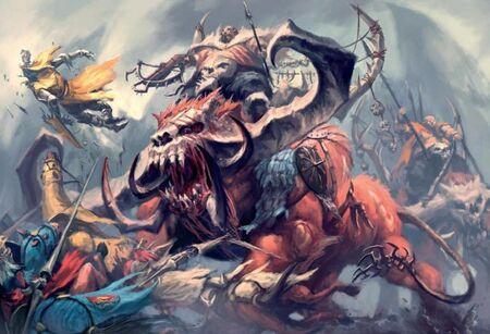 Cuernos Pétreos Reinos Ogros 8ª Edición ilustración color.jpg