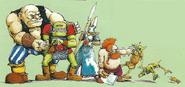 Razas de Warhammer por Dave Gallagher