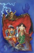 Drachenfels genevieve Detlef Sierck y Oswald von Königswald por Dave Gallagher