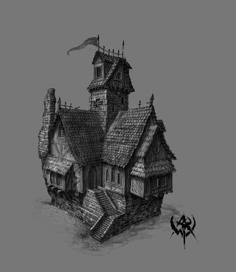 Warhammer Online Concept Art Edificio Imperio (2).jpg