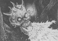 Craneo de la muerte segun imaginacion de seel baldurich por Martin McKenna