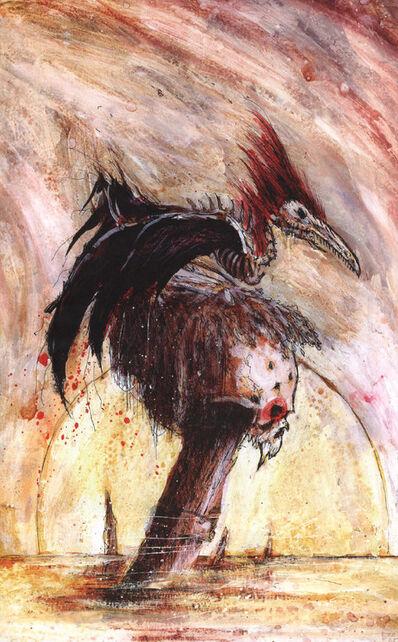 Escena Muerte por John Blanche Condes Vampiro No Muertos Reyes Funerarios.jpg