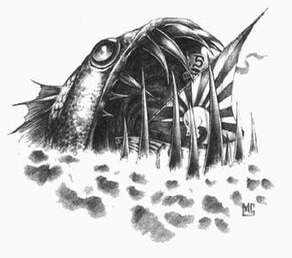 Leviatán Negro por Mark Gibbons Man O' War.jpg
