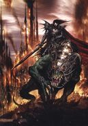 Malus Darkblade Devorador de Almas por Clint Langley