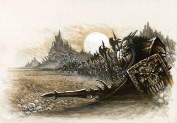 Linea de batalla del Caos Des Hanley Guerreros del Caos.jpg