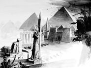 Pirámides de Khemri por Dave Gallagher