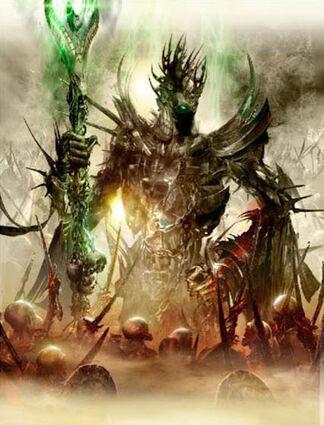 Nagash, el Inmortal por Jon Sullivan Boceto Nagash (1).jpg
