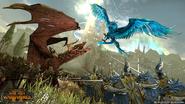 Dragon druchi vs fenix asur warhammer total war