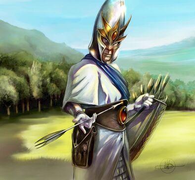 Flechas de Ithilmar por S.C. Watson Arqueros Altos Elfos.jpg