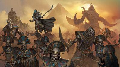 Reyes Funerarios por Diego Gisbert Llorens Warhammer Total War.jpg